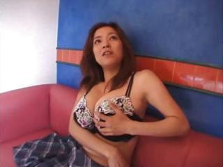breasty japanese mother i gets bare and toyed and