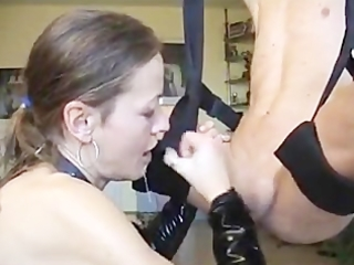 german older gives flawless blowjob