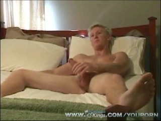blond twink try-out