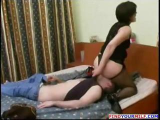 pantyhose russian mom and chap