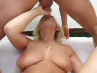 breasty blonde mother i anal play