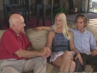 beautiful golden-haired wife screwed and had a