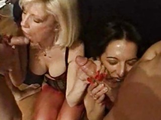 foursome fucking fun with hot and shaggy mother i