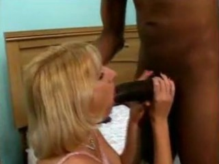 bored wife tries 41 inches of black weenie