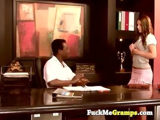 tammy gets drilled by her boss