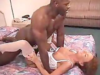 sexy milf babe receives her fur pie drilled hard