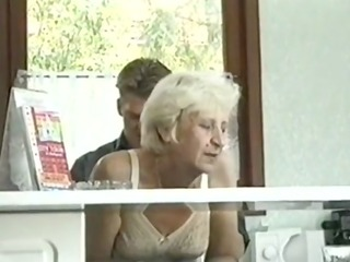ficky martin fucks a blonde hirsute granny very