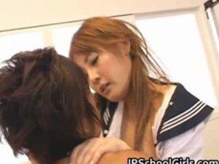 cute japanese school gal momo gets part9