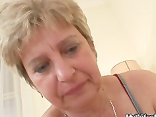 weenie hungry granny copulates her son in law
