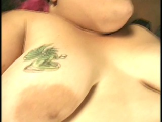 unsightly bulky redhead sucks dude&s cock and