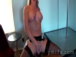 mother i in nylons lisa demarco rides boss big