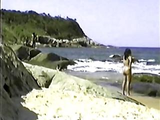 my exibitionist wife beatrice on beach 0
