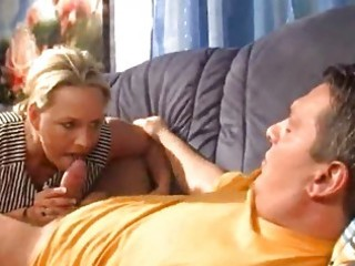 golden-haired cubby mature german wife