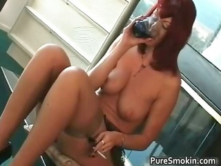 large boobs red head cunt smokin slavery