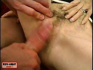 granny widens legs and acquires a dick rammed