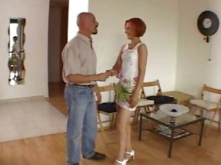 non-professional amazing redhead hot wife talking