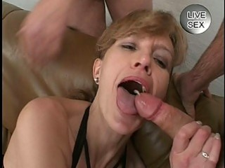 sweet cum facial for mother i