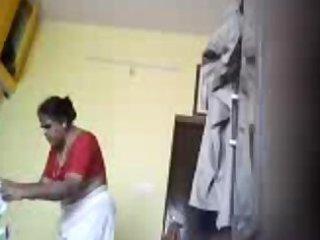 desi mamma kavitha saree stripping hidden cam