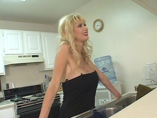 mature mommy gets in on with a younger boy