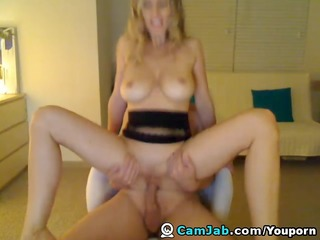 golden-haired busty wife acquire home fucking and