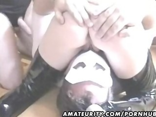 amateur housewife homemade group sex act