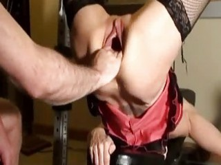 excited d like to fuck fist fucked in her gaping