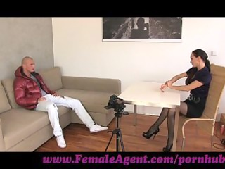 femaleagent. gorgeous chap in mind blowing casting