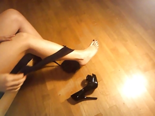 ladymm italian milf, high heels and pantyhose