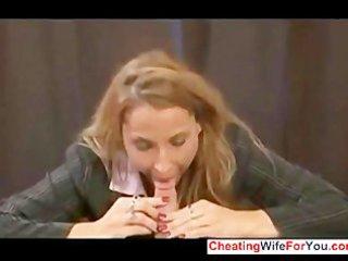 hot mommy make son cum