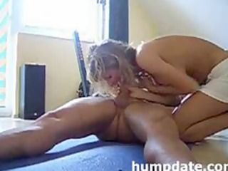 busty mother i rides cock and gets creampied