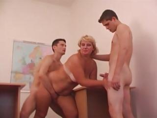sexy mom n74 blond aged in trio