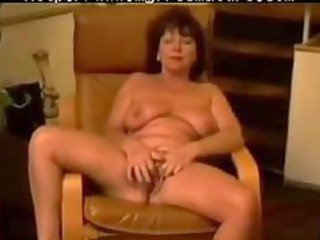 chair masturbation of french carla 66 years aged