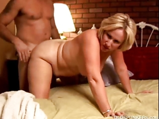perverted aged sweetheart molly gives a sloppy