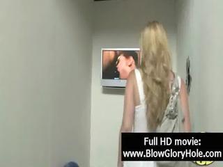 gloryhole - hot breasty women love engulfing knob