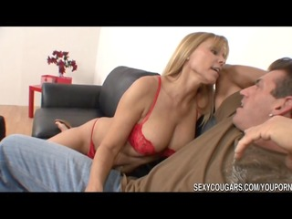 hot cougar nailed by large ramrod dude