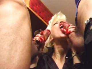 lascivious mother double penetrated by two allies