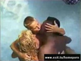 my wife going interracial at swinger pool fuckfest