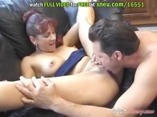 super sexy aged doxy masturbates with a sex toy