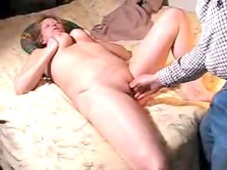 aged homemade sex clip