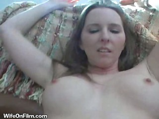 hawt blonde sucks dong on film for her spouse