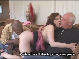 wifes pussy squeezing darksome cum out