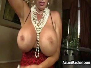 breasty golden-haired d like to fuck goes crazy