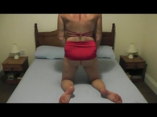 my wife getting willing for a whipping session