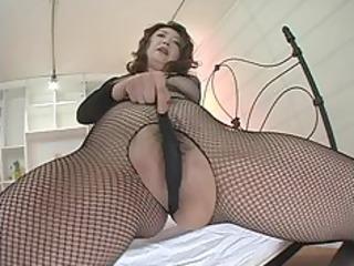 japanese mother i in dark fishnets masturbation
