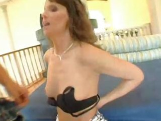 milf in stockings takes it is up the a-hole