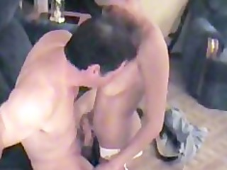 darksome wife acquires fucked by white friend