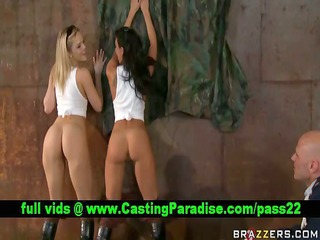 alexis and rachel two large asses bouncing