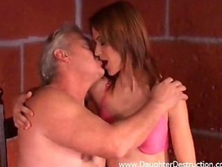 older man abuses youthful daughter