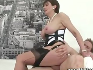 cheating wife acquires hawt forbidden sex in hose