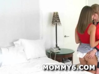 ultimate mom and daughter dream threeway